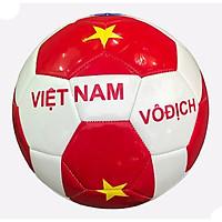Bóng Đá Trẻ Em Số 4 Hình Việt Nam Vô Địch Hàng Nhập Khẩu Màu Trắng Pha Đỏ