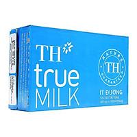 Thùng sữa tươi tiệt trùng Ít đường TH True Milk 180ml x 48 hộp/ thùng