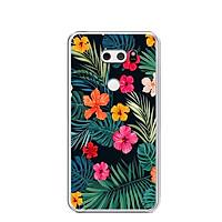 Ốp lưng dẻo cho điện thoại LG V30 - 0336 FLOWER07 - Hàng Chính Hãng