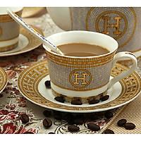 Tách trà, Ly uống cà phê bằng sứ tráng men cao cấp