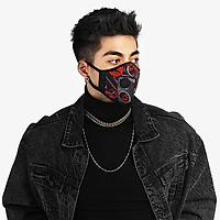 Khẩu trang thời trang cao cấp Soteria Rap ST183 - Khẩu trang vải than hoạt tính [size S,M,L] Van đen