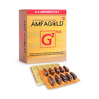 Viên uống hỗ trợ hoạt huyết và bồi bổ sức khoẻ Amfagold G2 Plus