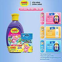 Sữa Tắm Gội cho bé Carrie Junior hương Cherry 280g - Tặng Bút Màu