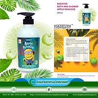 Sữa Tắm Dưỡng Da Hương Táo Xanh ( MADELYN MINIONS BOOSTER BATH AND SHOWER APPLE PARADISE) 500ml