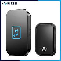 Chuông cửa không dây thông minh Horizen, chuông cửa không dùng pin, tự cấp nguồn, chống nước khoảng cách sử dụng trong 150M, 60 loại nhạc hay nhất - Horizen CH05