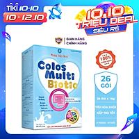 Sữa bột Colosmulti Biotic hộp 26 gói x 16g chuyên biệt cho trẻ táo bón, tiêu hóa kém