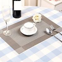Bộ 4 Tấm lót bàn ăn sang trọng cao cấp ( 4 cái)