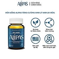 Viên uống ALIPAS tăng cường sinh lý nam với Eurycoma longifolia, Oyster Meat, Pine Bark Extract (30 viên)