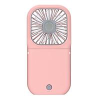 Mini Handheld Fan Portable Neck Hanging Fan Foldable Desktop Fan Electric Cooling Fan Adjustable Wind Speed USB