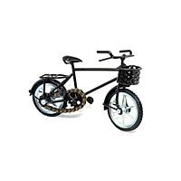 Mô Hình Xe Đạp Sắt Đen - Mô hình Die-Cast kiểu dáng xe đạp với chất liệu sắt mạ sơn tĩnh điện - Mô hình đồ chơi xe đạp với bánh răng xích thật [Thương Hiệu Mỹ Nghệ Phúc Loan]