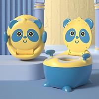 Bô cho bé đi vệ sinh hình thú có đệm