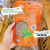 Hạt Chia Hữu Cơ Australia Healthy Food & Nuts Organic Chia Seeds (500g)