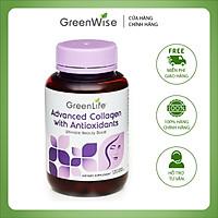 Viên Uống Bổ Sung Collagen Chống Oxy Hóa Giảm Nếp Nhăn Đạt Hiệu Quả Nhanh Chóng Greenlife 120 Viên