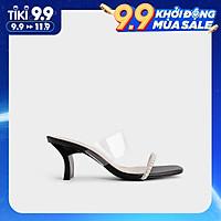 Giày Dép Cao Gót Nữ Quai Ngọc Phối Mica 7Phân - 08 HAPAS - CG77121