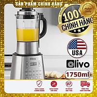 Máy Làm Sữa Hạt Đa Năng - Sữa Đậu Nành - Xay Sinh Tố OLIVO X20 - 14 Chức Năng - Hàng chính hãng