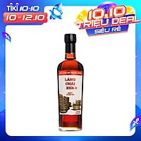 Nước mắm nhỉ Làng Chài Xưa truyền thống nhãn đỏ chai thủy tinh 500ml cốt nhỉ đặc biệt vị đậm đà gu ông bà xưa từ 100% cá cơm tươi không chất bảo quản