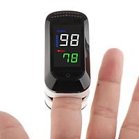 Portable LED Finger Tip Oximeter Blood Oxygen Saturation Monitor