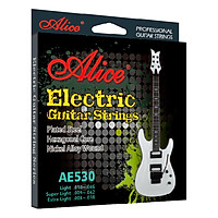 Dây Đàn Guitar Điện Alice AE530 - Bạc