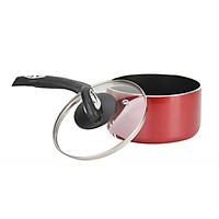 Quánh nấu bột, nấu cháo chống dính đáy từ Happycook size 16cm, chiều cao 8cm, sử dụng được trên bếp từ-Hàng chính hãng
