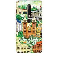 Ốp lưng dành cho điện thoại NOKIA 6 2018 Hình Địa Danh Sài Gòn - Hàng chính hãng