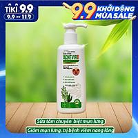 Sữa tắm chuyên biệt cho mụn lưng & viêm nang lông Acnevir- Chai/ 210ml