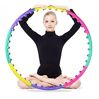 Vòng Lắc Eo Giảm Mỡ Bụng, Vòng Lắc Eo Thon Massage Giảm Mỡ Bụng - Hàng Chính Hãng (màu ngẫu nhiên)