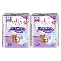 Combo 2 Gói Băng Vệ Sinh Elis Fairy Wings  RP 30cm (12 Miếng / Gói)