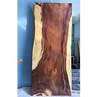 Mặt bàn gỗ me tây nguyên tấm KT 5x72x200cm