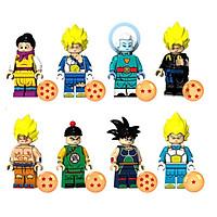 Mô hình nhân vật lego trong dragonball 08