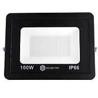 Đèn Pha LED GS-PN100 Công suất 100W Siêu Mỏng (ánh sáng vàng)