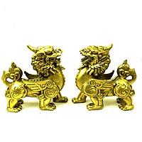 Đôi Tỳ Hưu Thiên Lộc Đồng Vàng