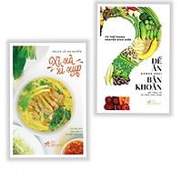 Combo 2 Cuốn: Để Ăn Không Phải Băn Khoăn + Xì Xà Xì Xụp - Tặng kèm bookmark Aha