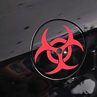 ZOMBIE OUTBREAK - Sticker transfer hình dán trang trí Xe hơi Ô tô size 11x11cm