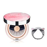 Phấn Nước Aprilskin Magic Essence Shower Cushion SPF50/PA++++ 13g + Tặng kèm 1 băng đô tai mèo xinh xắn ( màu ngẫu nhiên)