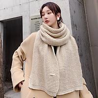 Khăn Choàng Cổ Len (Khăn Cashmere Len) Cao Cấp Giữ Ấm Mùa Đông - 40x180cm - Handmade - Mã LN004