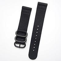 Dây Vải Nylon Size 20 Đen cho Galaxy Watch