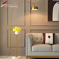 Đèn Đọc Sách Cây Đứng - Đèn Cây Trang Trí Phòng Khách ML5106 Thân Hợp Kim Mạ Vàng Sang Trọng, Tăng kèm Bóng LED Chống Cận Kích Thước 1.6m