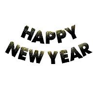 Dây chữ Happy New Year trang trí năm mới