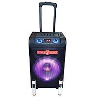 Loa vali kéo di động Malata M+9046 bass 30 hát karaoke mọi lúc mọi nơi (Kèm 2 mic không dây)- Hàng  chính hãng