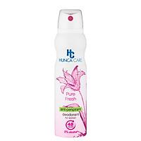 Xịt Khử Mùi giảm thâm, không cồn Hương Hoa Và Gỗ 48h - Hunca care 150ml