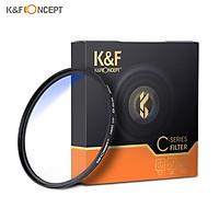 K&F CONCEPT 62mm Ultra Slim Multi Coated MC UV HD Lens Filter Compatible with Canon Nikon Sony DSLR Camera Lens