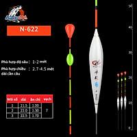 Phao câu cá Nano N-621 Tới N-628 Dùng Câu Đài Đầy Đủ Thông Số