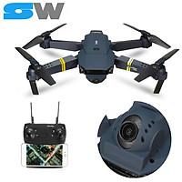 Flycam E58 Thế Hệ 2020, Camera WIFI FPV 720p, Tích Hợp Giữ Độ Cao, Chế Độ Không Đầu RC RTF Drone