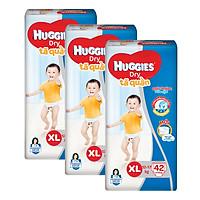 Combo 3 Gói Tã Quần Huggies Dry Gói Đại XL42...
