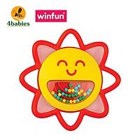 Xúc xắc hình mặt trời phát nhạc Winfun WF000243 - Đồ chơi luyện tay, tập cầm nắm cho bé từ 3 tới 9 tháng - tặng đồ chơi dễ thương