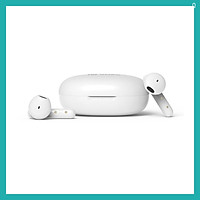 Tai nghe Bluetooth 5.0 - Tai nghe TWS - FutureBuds Plus - HiFuture - Soft Bass Acoustic/Stereo/Touch Control/IPX5/Up to 25hr/Auto connect (Hàng chính hãng) - Trắng