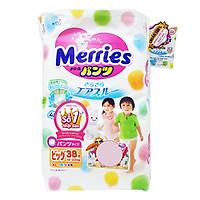 Tã/Bỉm Quần Merries Size XL 38 miếng (dành cho bé...