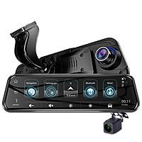 Camera hành trình gương cao cấp Phisung H58 tích hợp 4G, Wifi, GPS, 10 inch, android 5.1 OS,  Bluetooth 4.0, ADAS, WDR, USB 2.0, Chíp MTK6735  + CPU Lõi tứ A53+ 1.3Ghz + Rom 16G + RAM 1GB