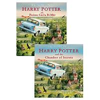 Combo Song Ngữ Harry Potter And The Chamber Of Secrets - Harry Potter Và Phòng Chứa Bí Mật (Bản Màu)