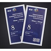 SIZE 8 (9x19cm) SET 50 miếng nilon đựng tiền giấy , giúp bảo quản tiền chuyên nghiệp , sản phẩm chuyên dùng các nhà sưu tập - The Merrick Mint